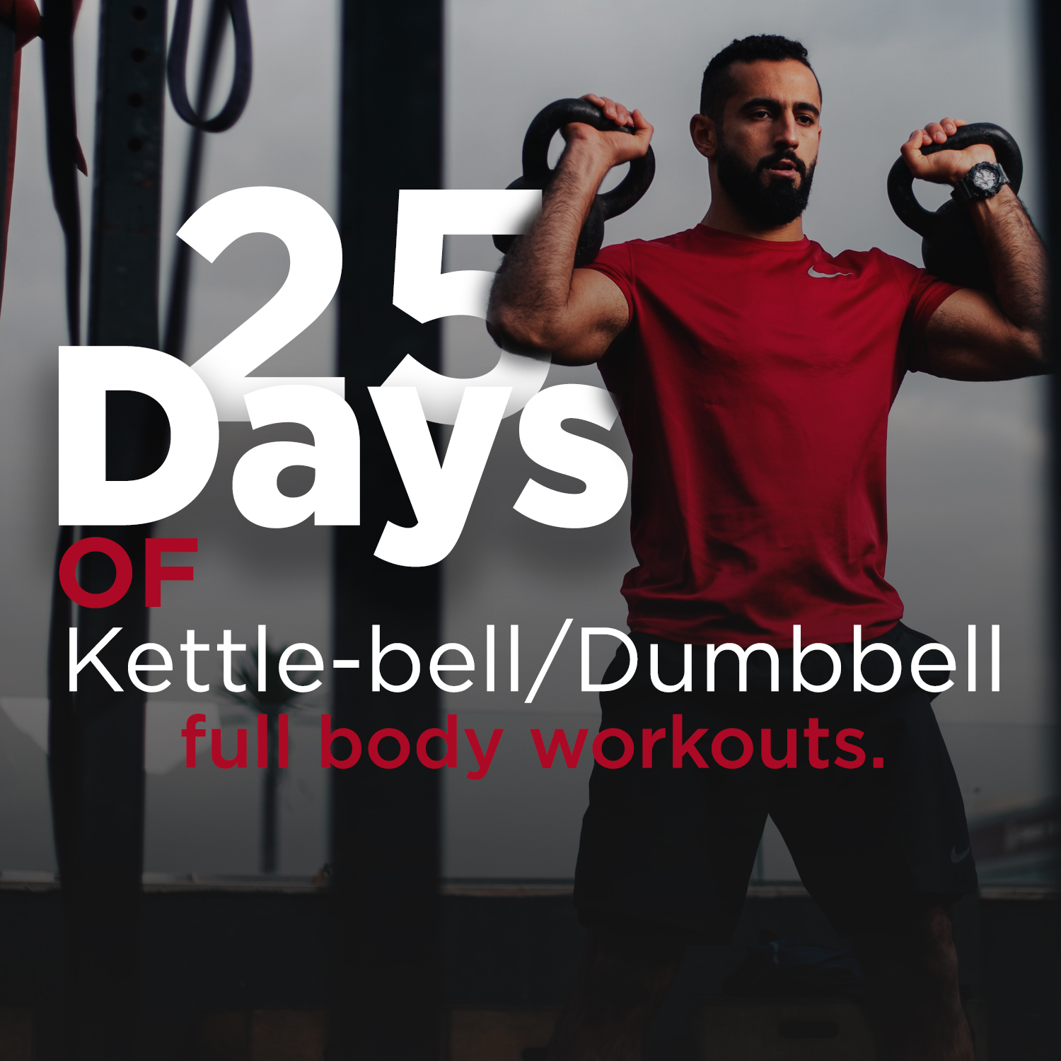 25 days kettlebell/dumbbells workout HIT Egypt