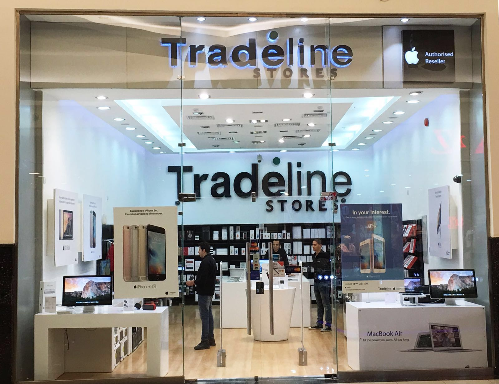 Tradeline stores apple authorised reseller egypt for Shopping in cairo